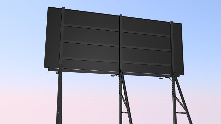 İlan panosu royalty-free 3d model - Preview no. 2