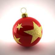 クリスマスデコレーション3 3d model