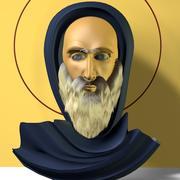 Sint Antonius 3d model