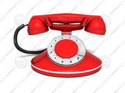 ヴィンテージ電話 3d model