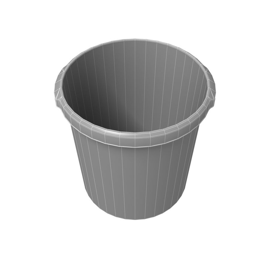 Office Bin royalty-free 3d model - Preview no. 4