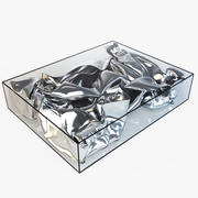 Silver Crush Table 3d model