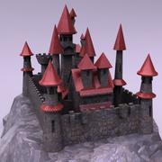 城堡 3d model