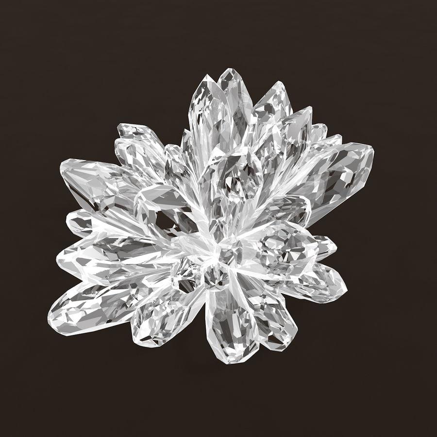 Minerały kryształów geodezyjnych royalty-free 3d model - Preview no. 5