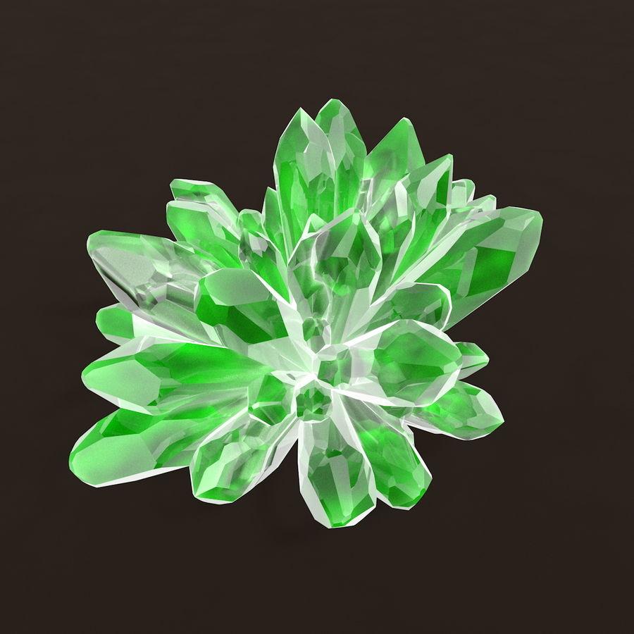 Minerały kryształów geodezyjnych royalty-free 3d model - Preview no. 6