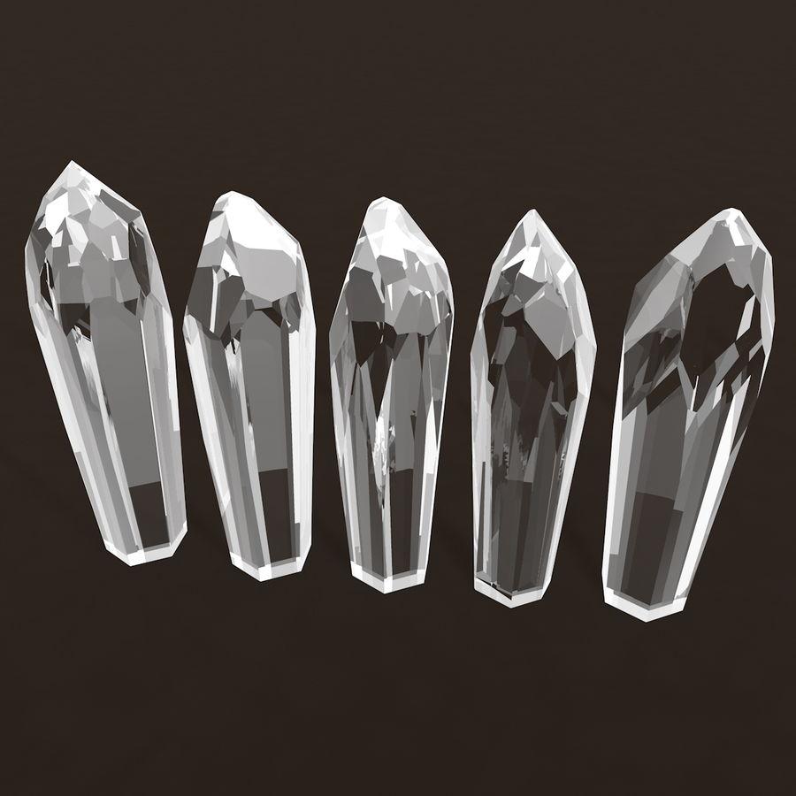 Minerały kryształów geodezyjnych royalty-free 3d model - Preview no. 2