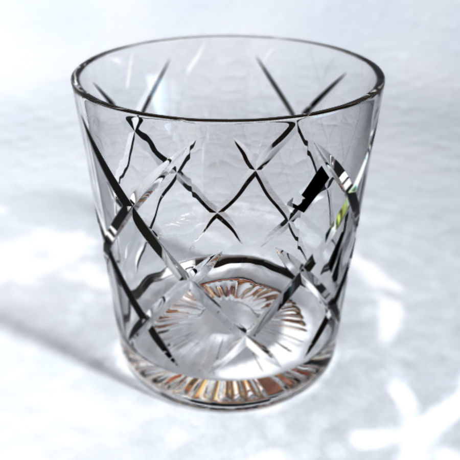 Whisky tumlare royalty-free 3d model - Preview no. 2