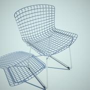 Bertoia yan koltuğu 3d model