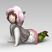 Figurka dziewczyny 3d model
