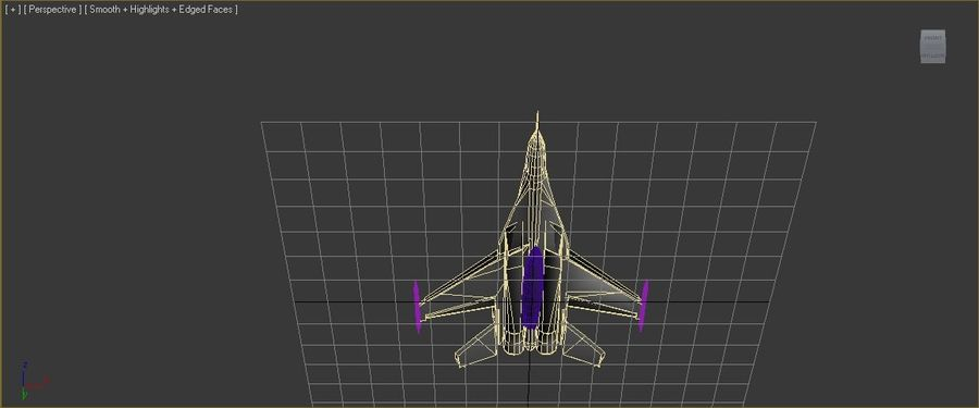 mig35 royalty-free 3d model - Preview no. 7