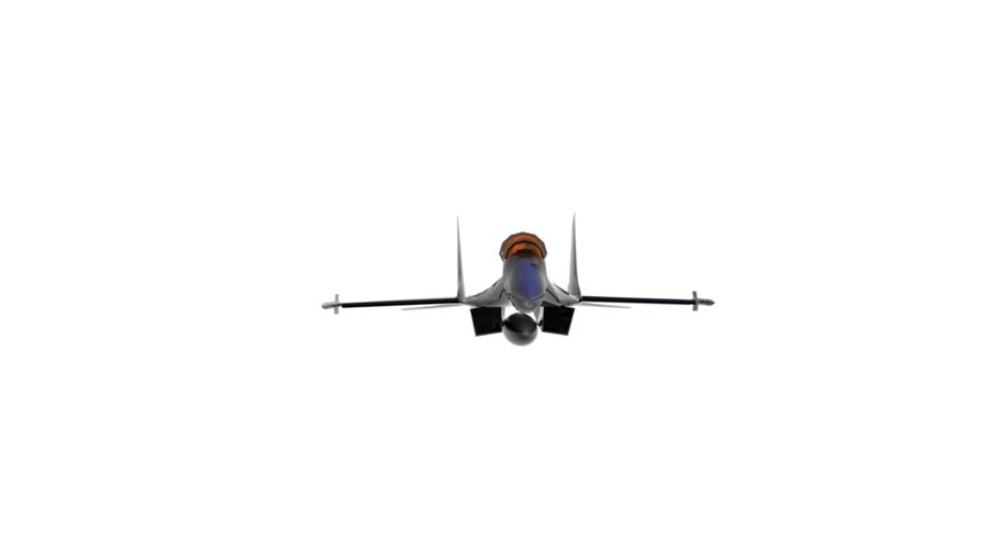 mig35 royalty-free 3d model - Preview no. 6