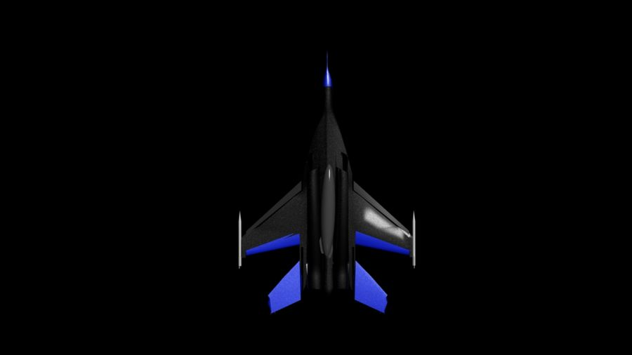 mig35 royalty-free 3d model - Preview no. 2