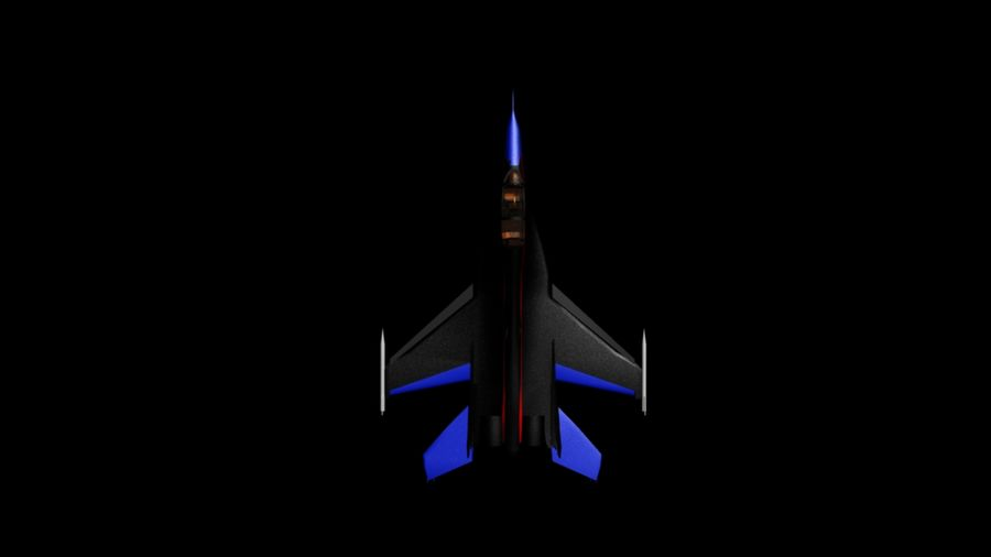 mig35 royalty-free 3d model - Preview no. 3