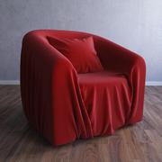 Wrinkle Armchair 3d model