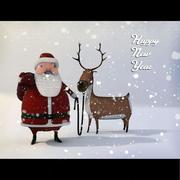 рождество 3d model