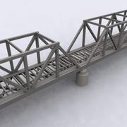 다리 001 3d model