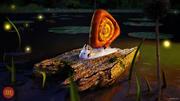 Unusual snail 3d model