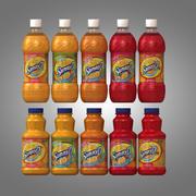 Sunny D Bottles 3d model
