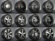 Complete Wheel Pack +12rims Infiny 3d model