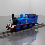 托马斯(Thomas)金属发动机 3d model