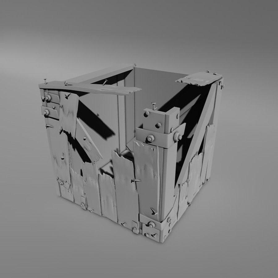 破箱子 royalty-free 3d model - Preview no. 3