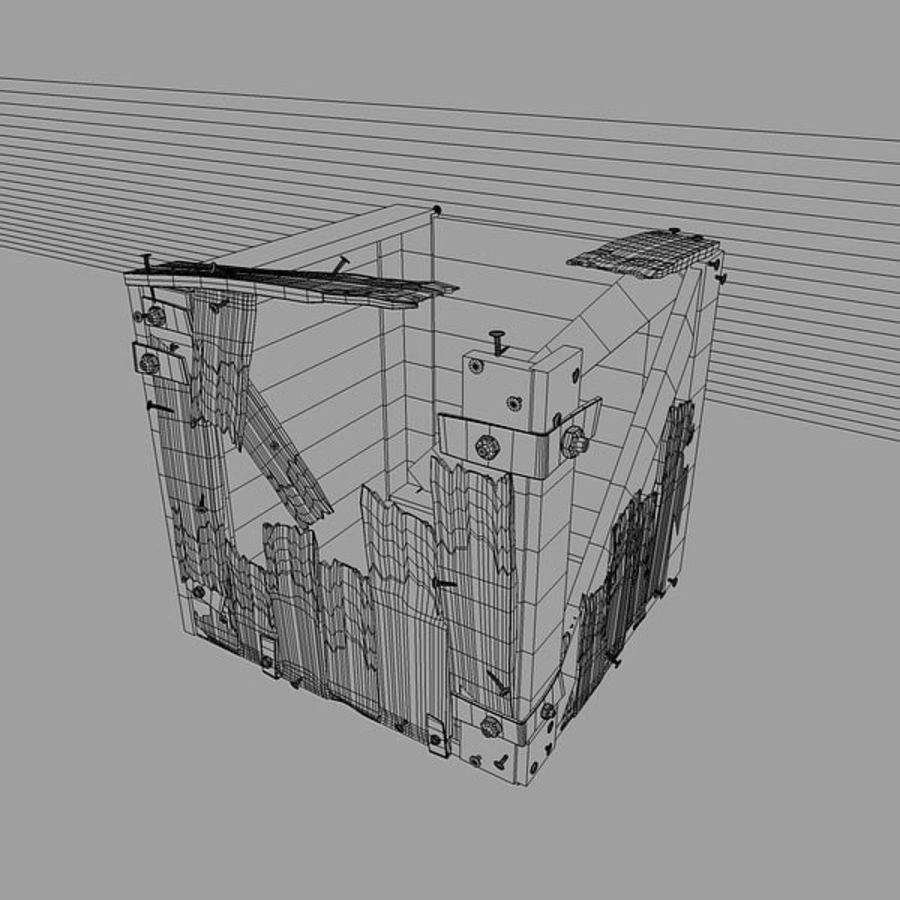 破箱子 royalty-free 3d model - Preview no. 2