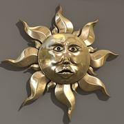 太阳装饰品 3d model