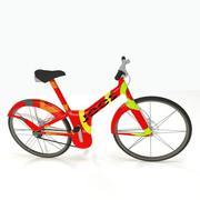 Rower elektryczny 3d model