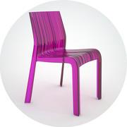 Krzesło plisowane KARTELL 3d model