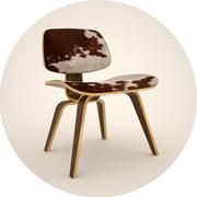 Eames chaise en contreplaqué 3d model