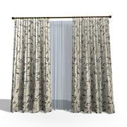 Curtain 23 3d model