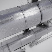 Air Conditioning Ducting 3d model