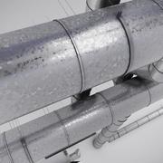 Kanały klimatyzacyjne 3d model