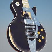 "Gibson Les Paul ""Old black"" 3d model"
