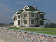 Ukrainian House 3d model