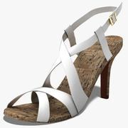 zapatos de mujer 008 modelo 3d