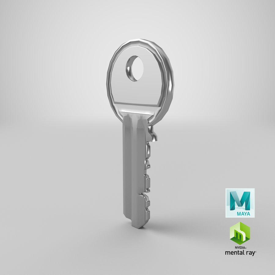 Key royalty-free 3d model - Preview no. 12