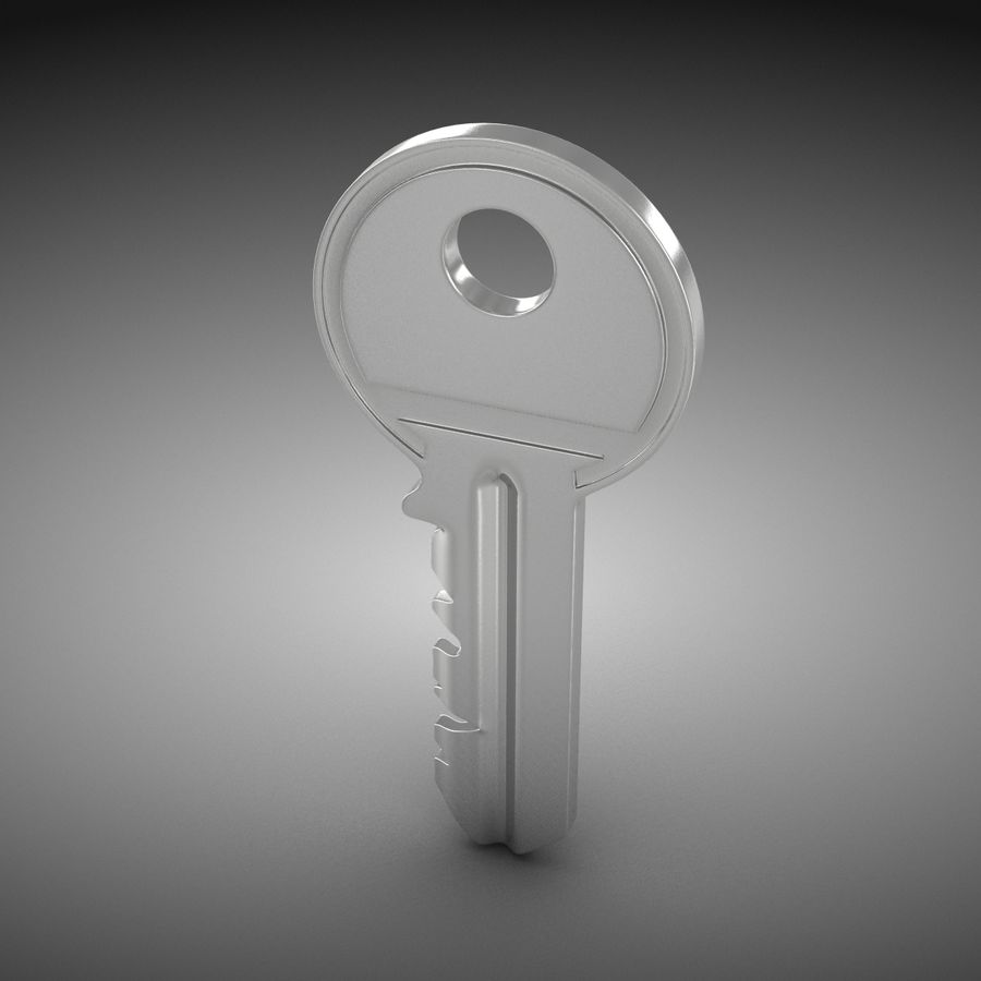 Key royalty-free 3d model - Preview no. 3