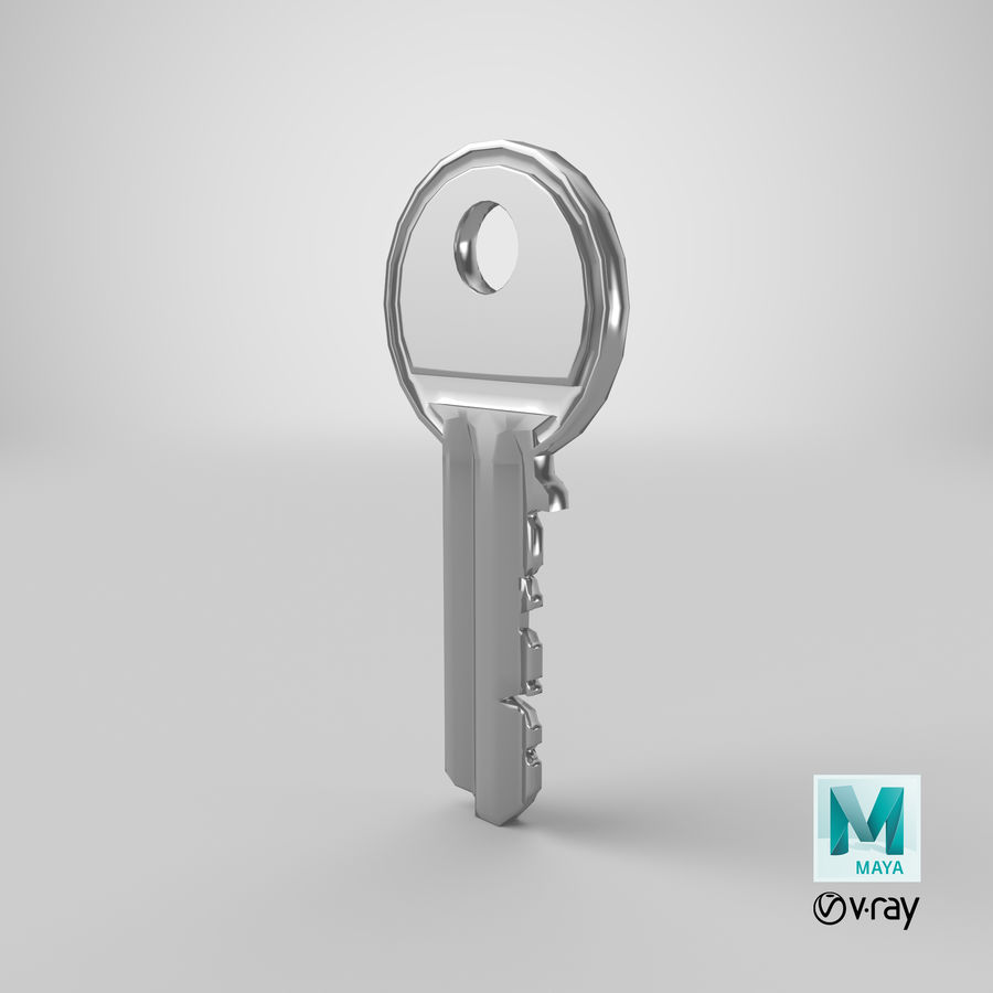 Key royalty-free 3d model - Preview no. 11
