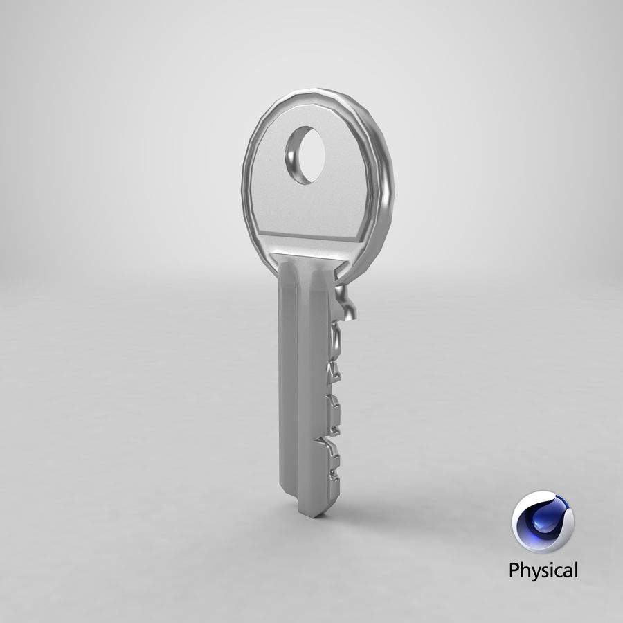 Key royalty-free 3d model - Preview no. 17