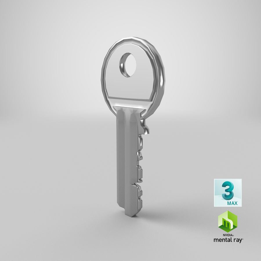 Key royalty-free 3d model - Preview no. 14