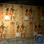 Egyptian wall 3d model