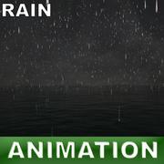 ocean rain 3d model