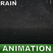pluie d'océan 3d model