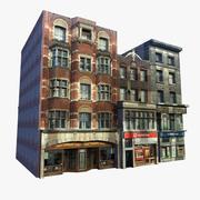 Low Poly Shopfront 3 3d model