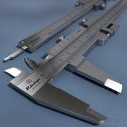 Compasso de calibre vernier (Mitutoyo) 3d model