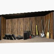 toolshed 3d model