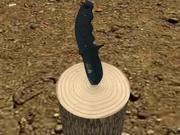 Cuchillo táctico modelo 3d