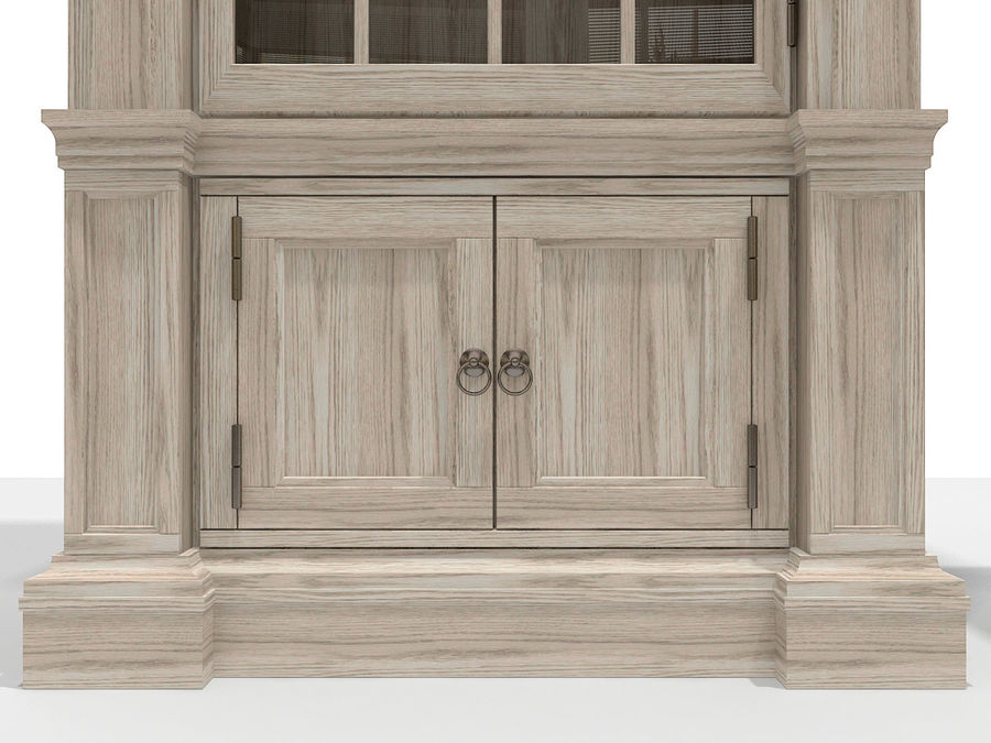 Gabinete y buffet de China royalty-free modelo 3d - Preview no. 4