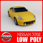 370Z Låg poly 3d model